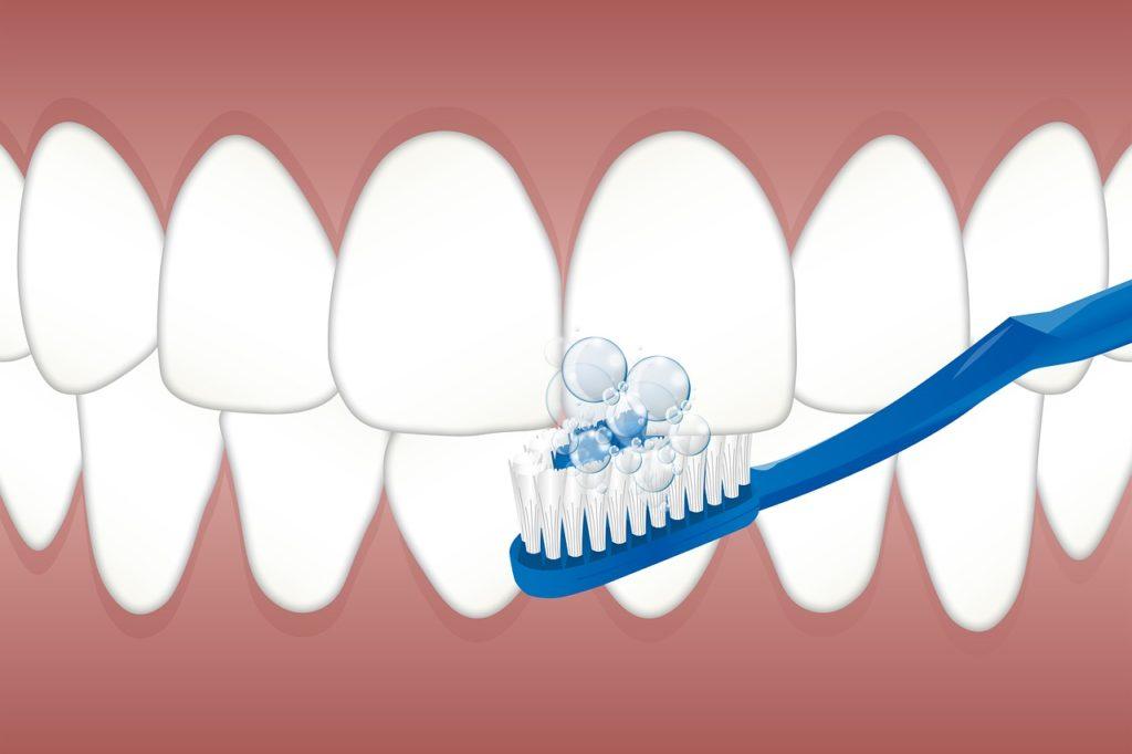 brushing teeth good oral hygiene